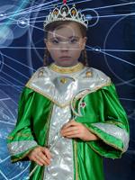 Девочка Астролог, виртуальный костюм, PSD