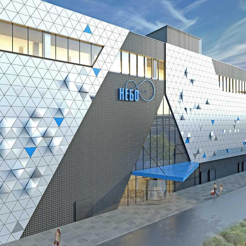 Торговый центр Небо в Солнцево на Авиаторов