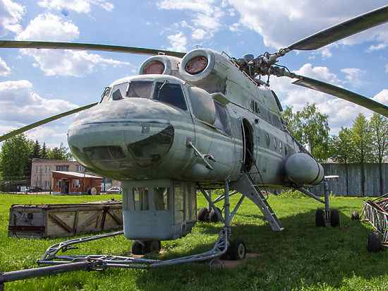 вертолёт Ми-10К - летающий кран
