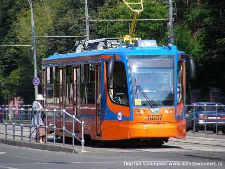 Трамвай в Солнцево