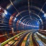 Тоннель метро, метро, тоннель