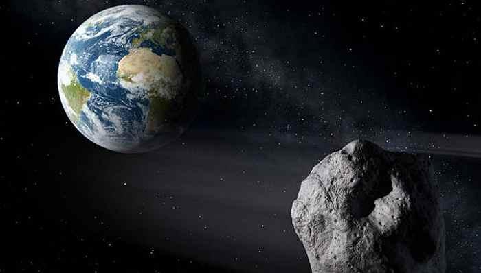 Космос, астероид