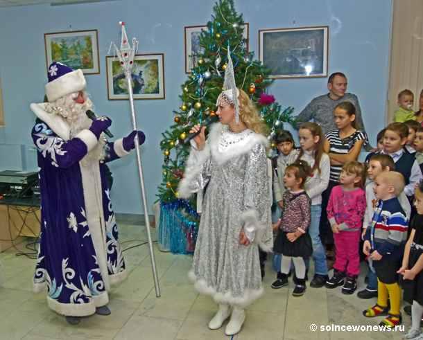 Новый год, утренник, Дед Мороз, Снегурочка