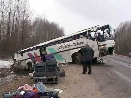 Авария, дтп, автобус