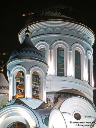 Храм Преподобного Сергия Радонежс в Солнцево