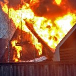 пожар в Солнцево