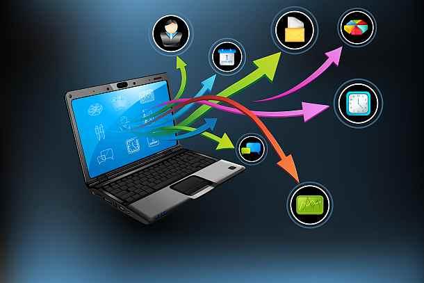 Электронный сервис, Интернет