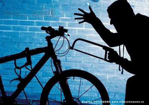 Велосипед, вор, кража, криминал