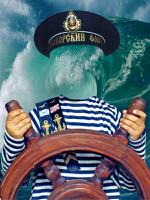 Моряк, цифровой виртуальный костюм для мальчика.