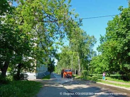 Улица Матросова в Солнцево