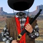 Шериф - костюм, шаблон для фотошопа