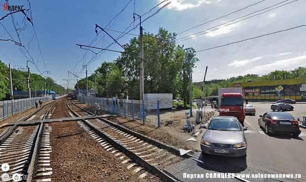 Переделкино, Железная дорога, Переезд