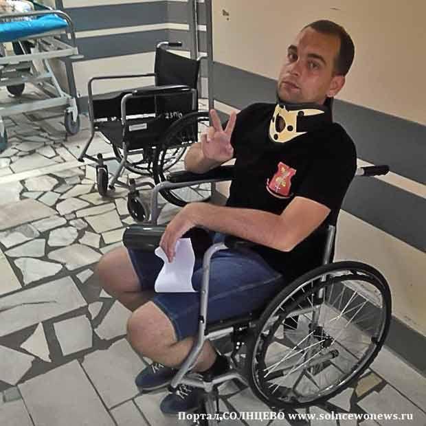 Дмитрий Салов, больница