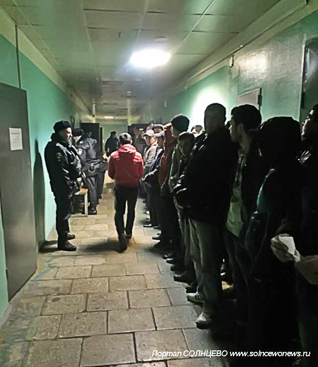 Полиция, Мигрант
