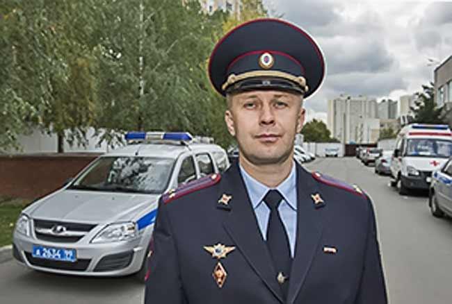 подполковник полиции Дмитрий Гусев, полиция