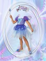 Фея, шаблон костюма для девочки, Photoshop