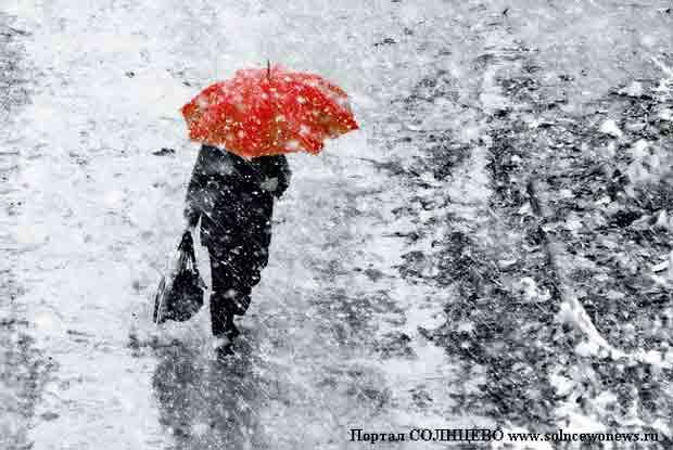 Погода, снег, мокрый снег
