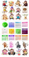 Календарь, Календарная сетка
