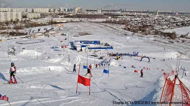 Горнолыжный склон Ново-Переделкино