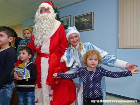 Ёлка в Управе Солнцево, Новый год, Дед Мороз