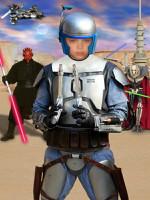 Коллаж шаблон Звёздные войны (Star Wars) для Photoshop