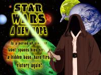 Коллаж Звёздные войны (Star Wars) psd