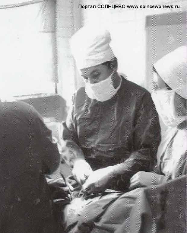 Доцент хирургии, кандидат медицинских наук Кузьмин Николай Васильевич, бывший ординатор Солнцевской больницы
