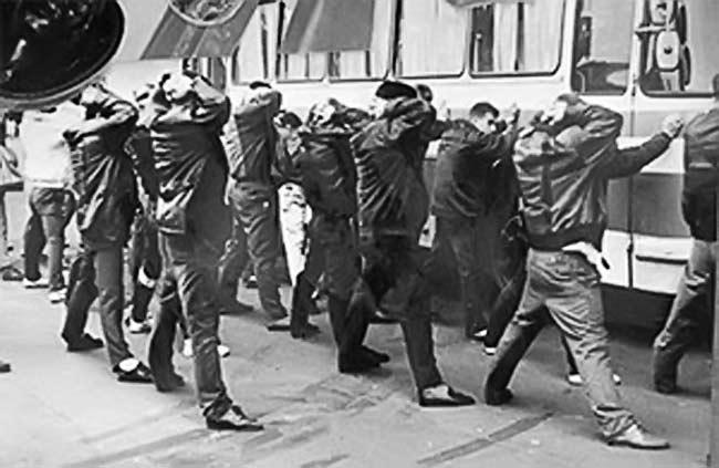 Задержание участников Солнцевской ОПГ