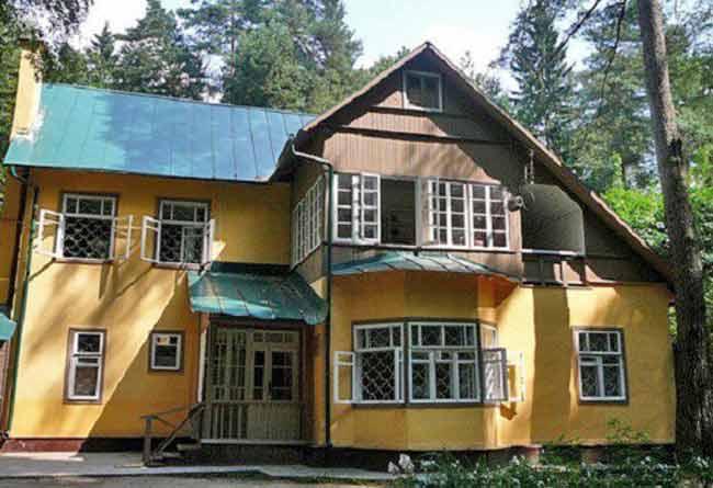 Дом музей Корнея Ивановича Чуковского.