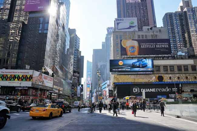 реклама, город
