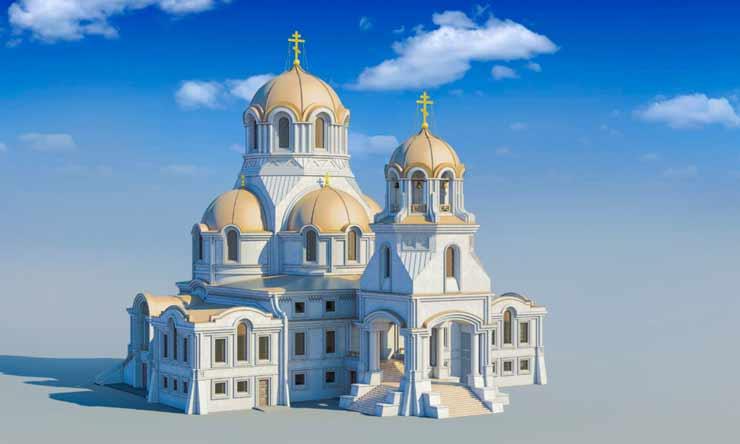 Храм в честь пророка Божия Илии в Солнцево на Авиаторов