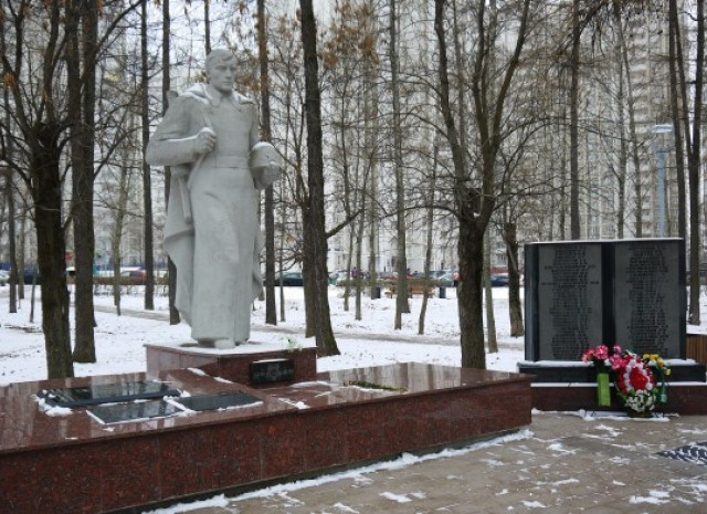 Памятник неизвестному солдату в Солнцево