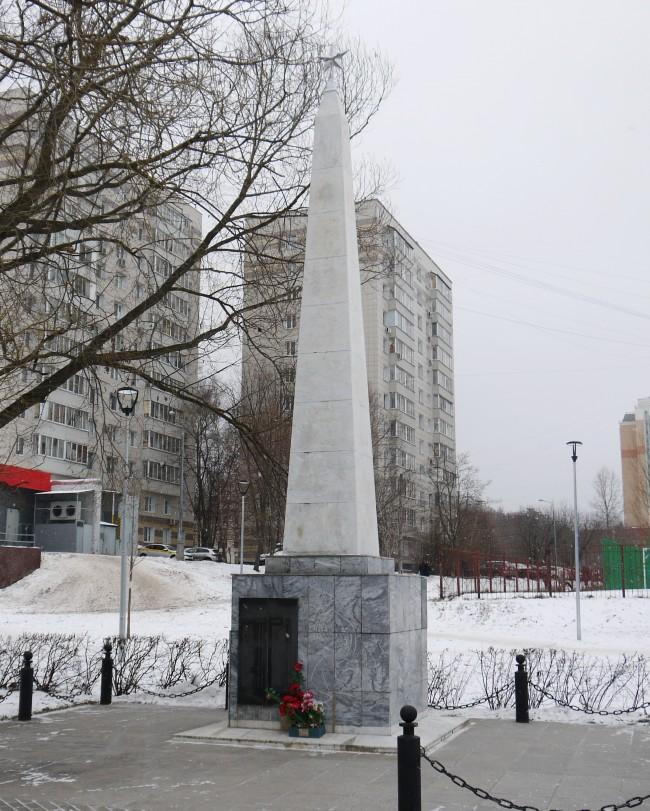 Памятник жителям деревни Терешково