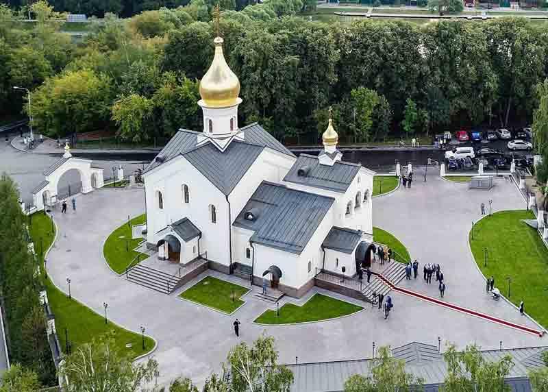 ХРАМ КАЗАНСКОЙ ИКОНЫ БОЖИЕЙ МАТЕРИ В ПОСЁЛКЕ МЕЩЕРСКИЙ