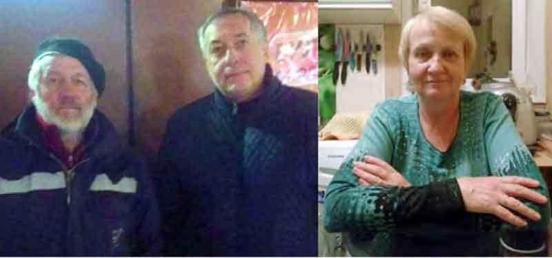 Ученики переделкинской школы. Слева направо: Виктор Петрович Сосков, Олег Борисович Иванов, Елена Ивановна Егорова (Баринова)