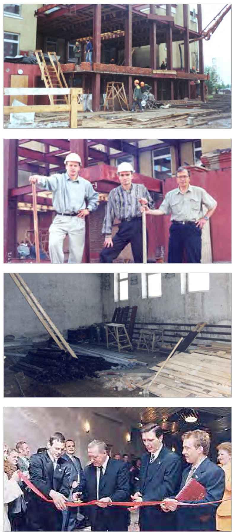 Реконструкция школы Борец в ново-Переделкино