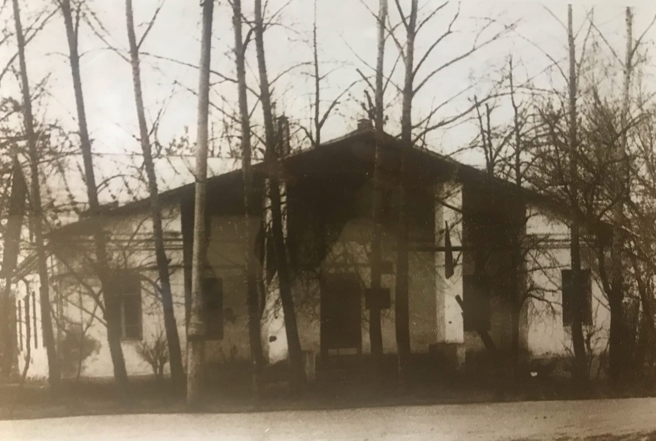 здании бывшего Поссовета, старое солнцево